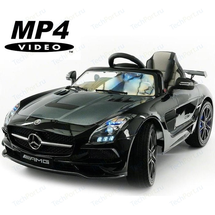 Электромобиль Hollicy Mercedes-Benz SLS AMG Black Carbon Edition MP4 - SX128-S