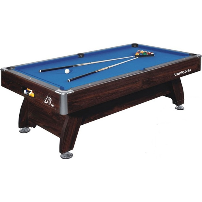 Бильярдный стол DFC Vankuver 7 синее поле бильярдный стол weekend billiard company пирамида classic ii 12 ф орех
