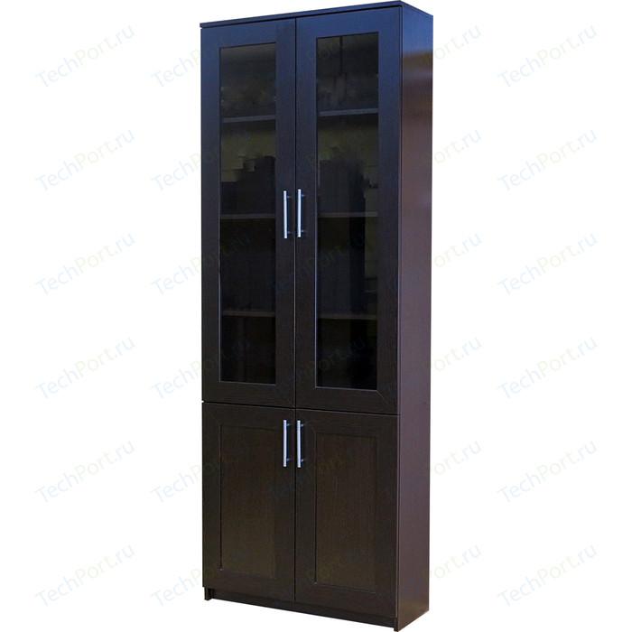 Книжный шкаф Шарм-Дизайн Симфония-2 80x30x220 венге