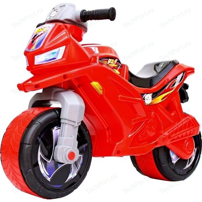 Каталка-мотоцикл RT ОР501в6 беговел Racer RZ 1, цвет красный