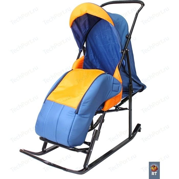 шустрик шустрик поливитамины для грызунов 20 мл Санки коляска RT Шустрик-Имго-6 на колесиках с горизонтальным положением спинки синий-оранжевый