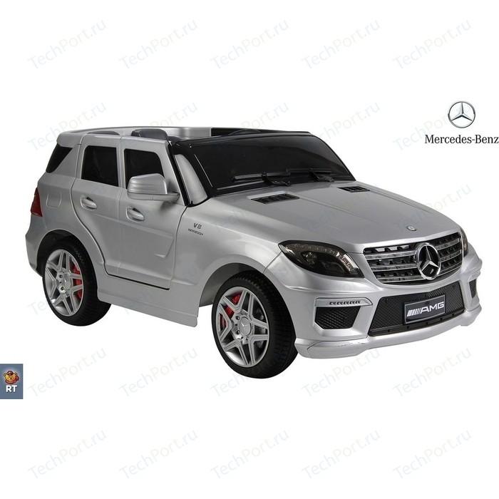 Электромобиль RT ML63 Mercedes-Bens AMG 12V R/C silver с резиновыми колесами