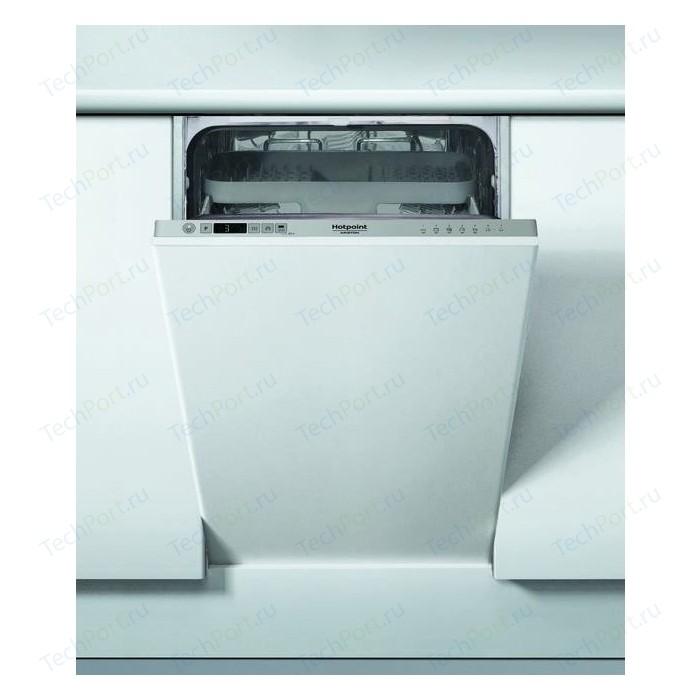 Встраиваемая посудомоечная машина Hotpoint-Ariston HSIO 3O23 WFE встраиваемая посудомоечная машина hotpoint ariston ltf 11s112 l eu серебристый