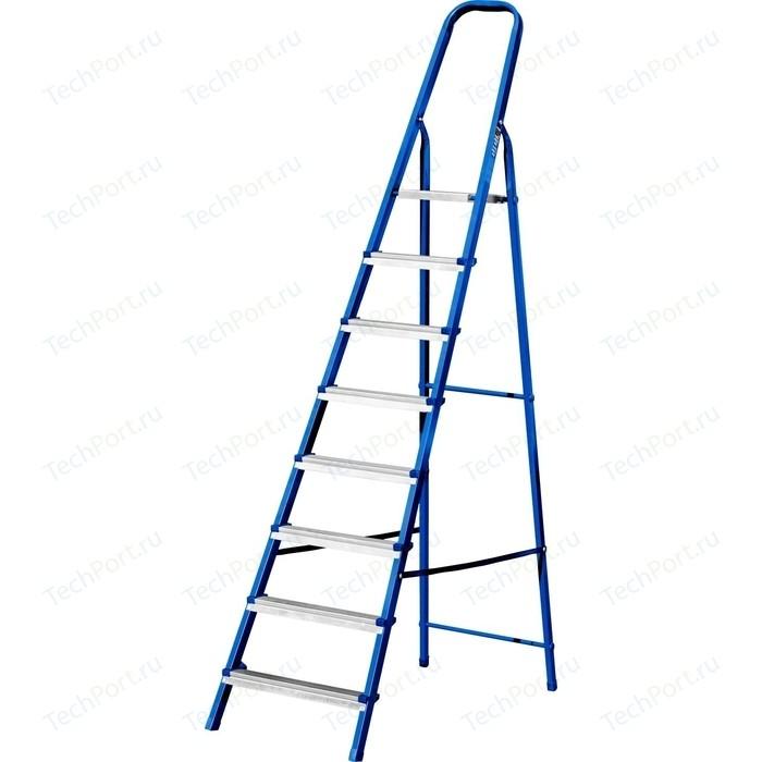 Лестница-стремянка MIRAX 8 ступеней, 162см (38800-08)