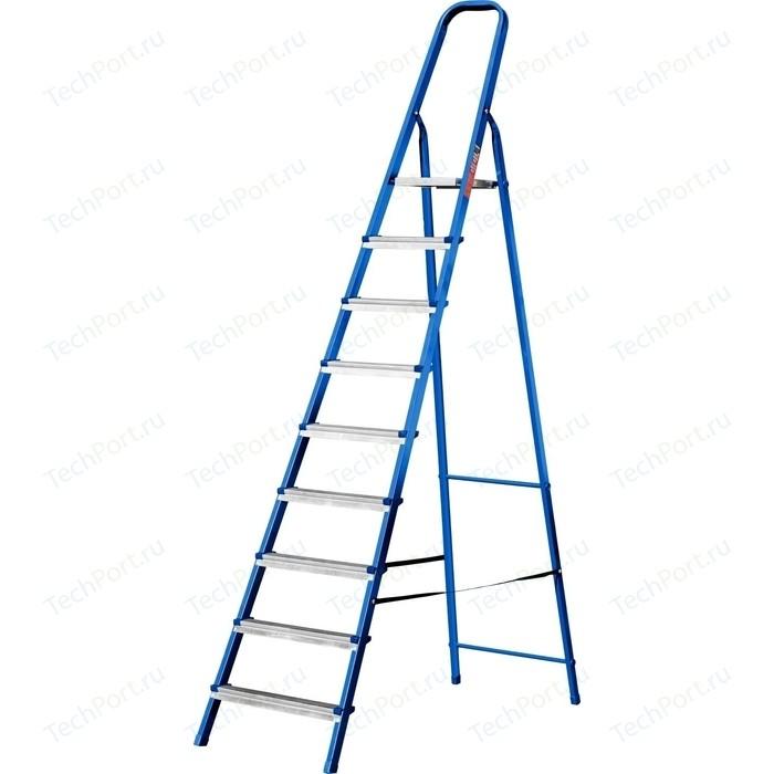Лестница-стремянка MIRAX 9 ступеней, 182см (38800-09) стремянка mirax 4 ступени 80см 38800 04
