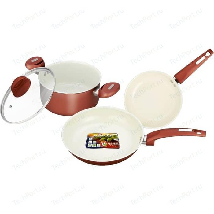 Набор посуды Vitesse VS-2216 набор кухонной посуды c внутренним керамическим покрытием vitesse vs 2217