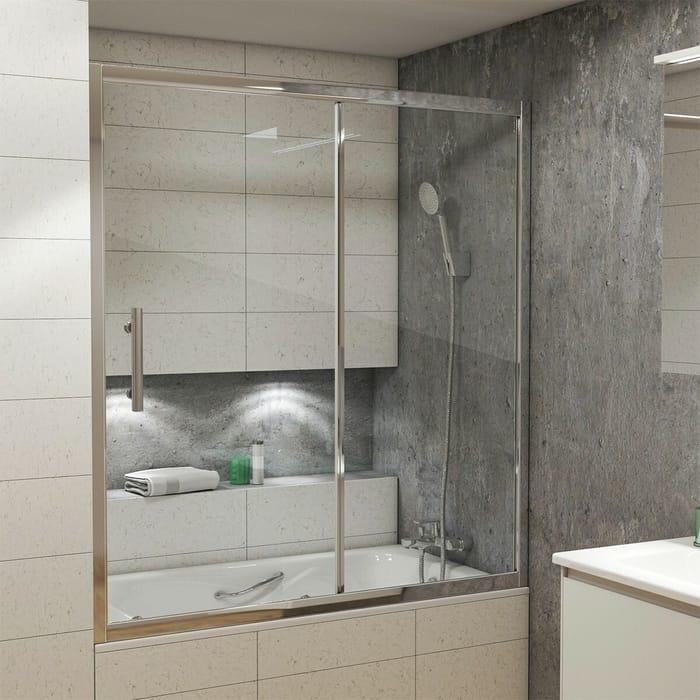 Шторка для ванной Grossman GR-150/2 (140x150)
