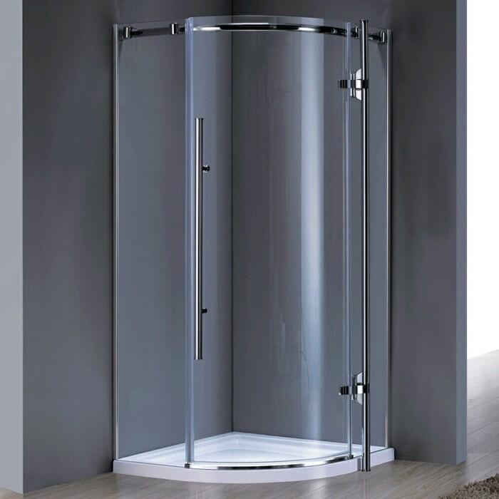 Душевой уголок Grossman Style 90х90 прозрачный, хром (GR-5090)