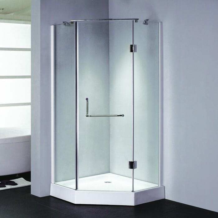 Душевой уголок Grossman Classic 90х90 прозрачный, хром (GR-8090)