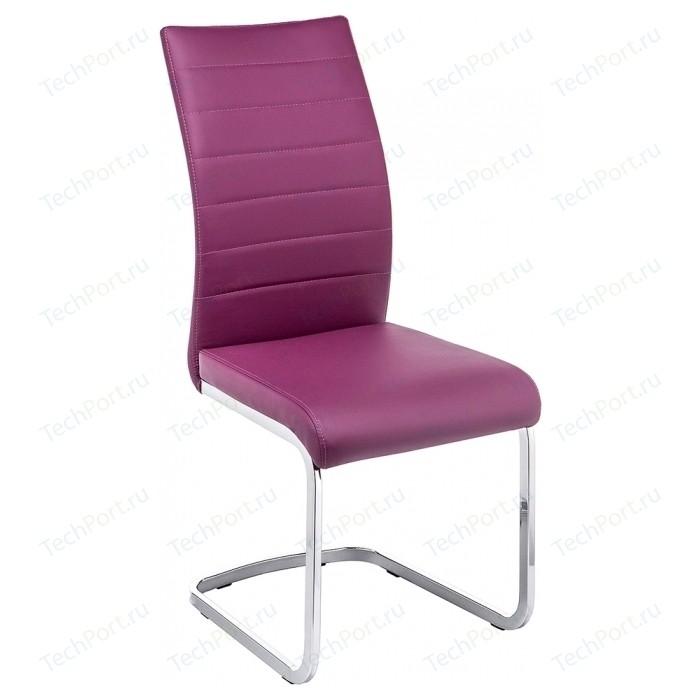 Стул Woodville Basit фиолетовый
