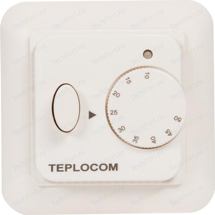 Встраиваемый термостат для электрического теплого пола Teplocom TSF-220/16A (919)