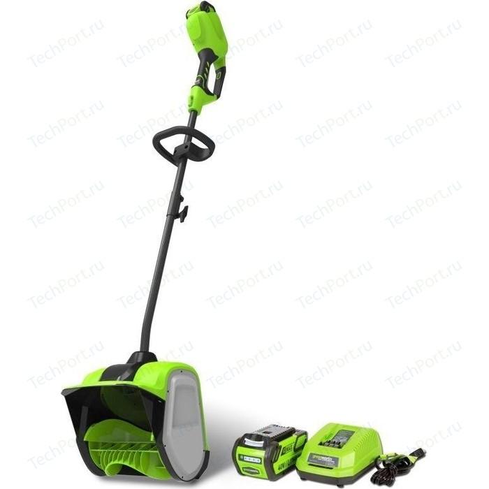 Снегоуборщик аккумуляторный GreenWorks GD40SSK2 (2600807UA)