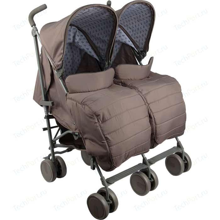 коляски для двойни и погодок Коляска-трость Corol для двойни L-2 БЕЖЕВЫЙ GL000718644