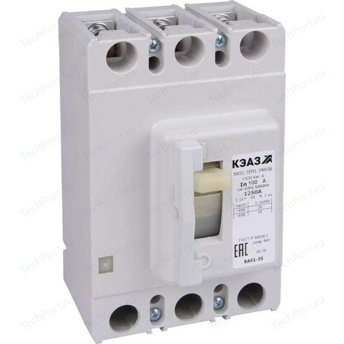 Выключатель автоматический КЭАЗ ВА51-35М1-340010 63А 690AC УХЛ3 (108327)