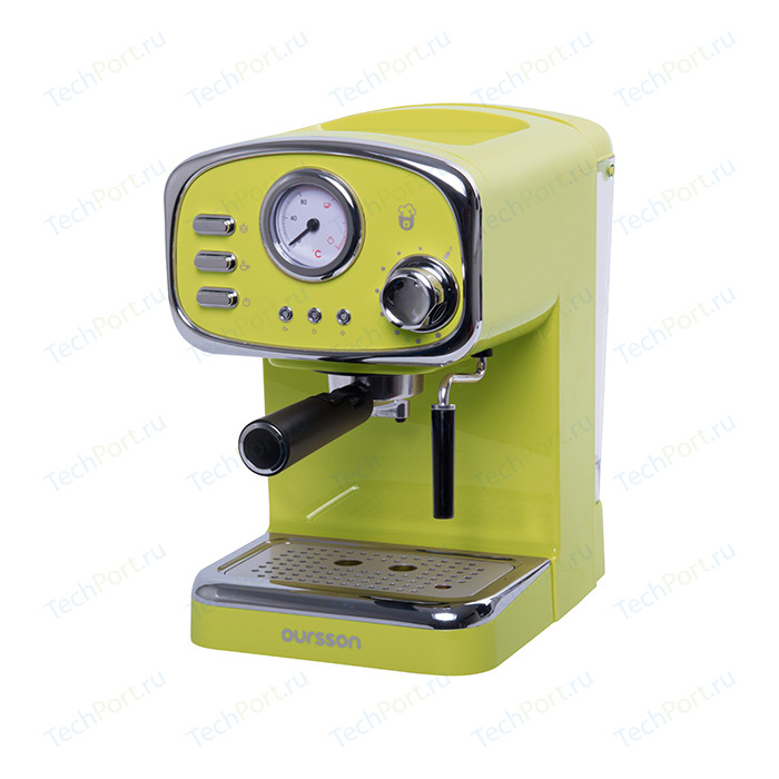 Рожковая кофеварка Oursson EM1505/GA (Зеленое яблоко)