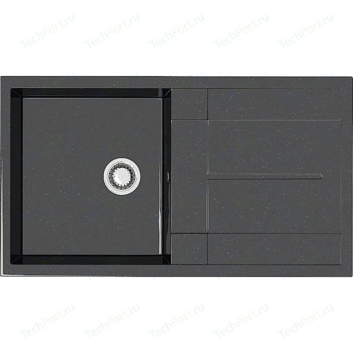 Кухонная мойка Marrbaxx Рони Z017Q4 черная (Z017Q004)