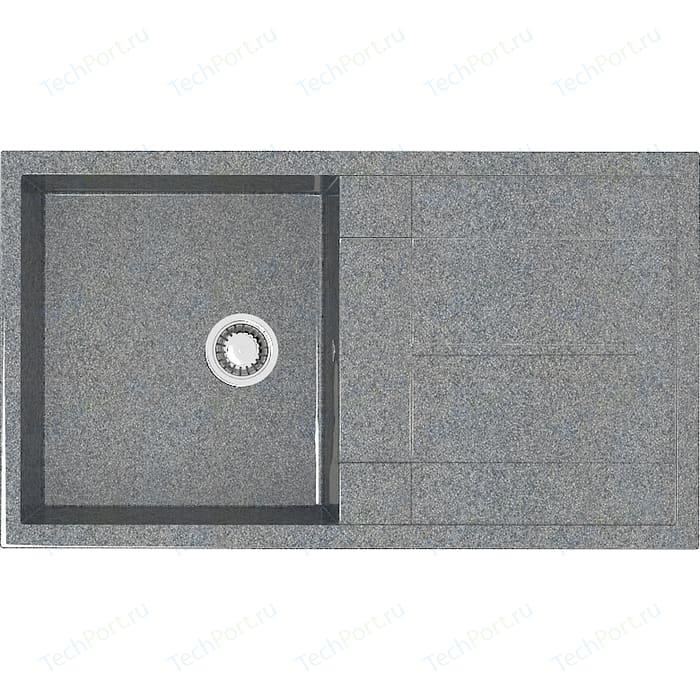 Кухонная мойка Marrbaxx Рони Z017Q8 темно-серая (Z017Q008)