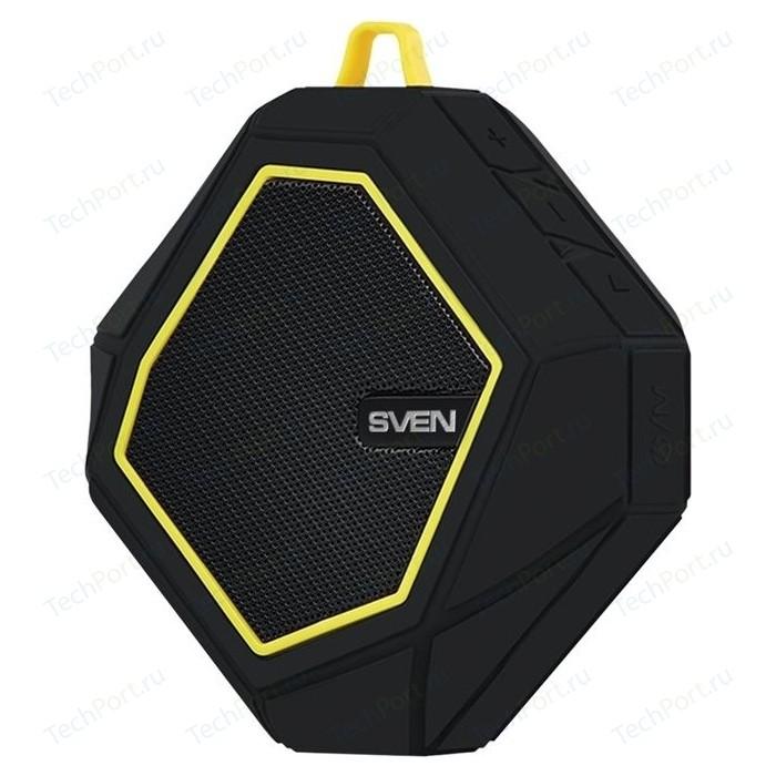 Портативная колонка Sven PS-77 black/yellow