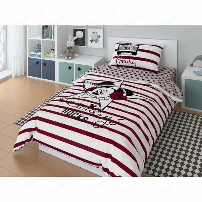 Комплект постельного белья Mickey 1,5 сп, поплин, star (720609)