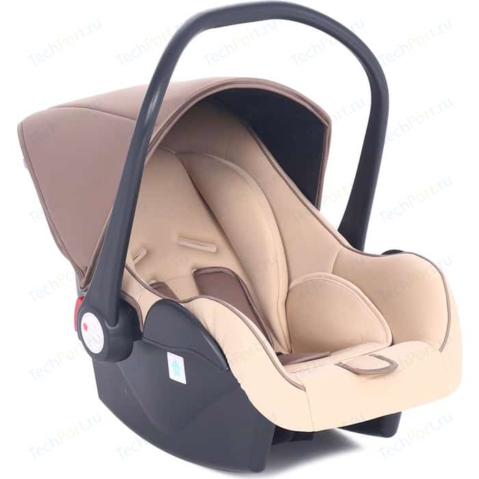 Автокресло Leader Kids 0-13 кг BABY LEADER COMFORT II, цвет Brown коричн/беж автокресло leader kids sorrento gray light blue