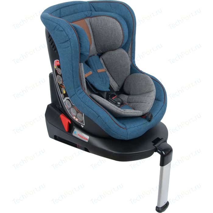 Автокресло Leader Kids 0-18 кг KIOTO, 0-1 гр. Isofix, цвет Blue джинс автокресло leader kids sorrento gray light blue