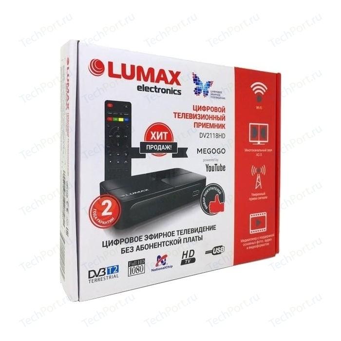 Тюнер DVB-T2 Lumax DV-2118HD