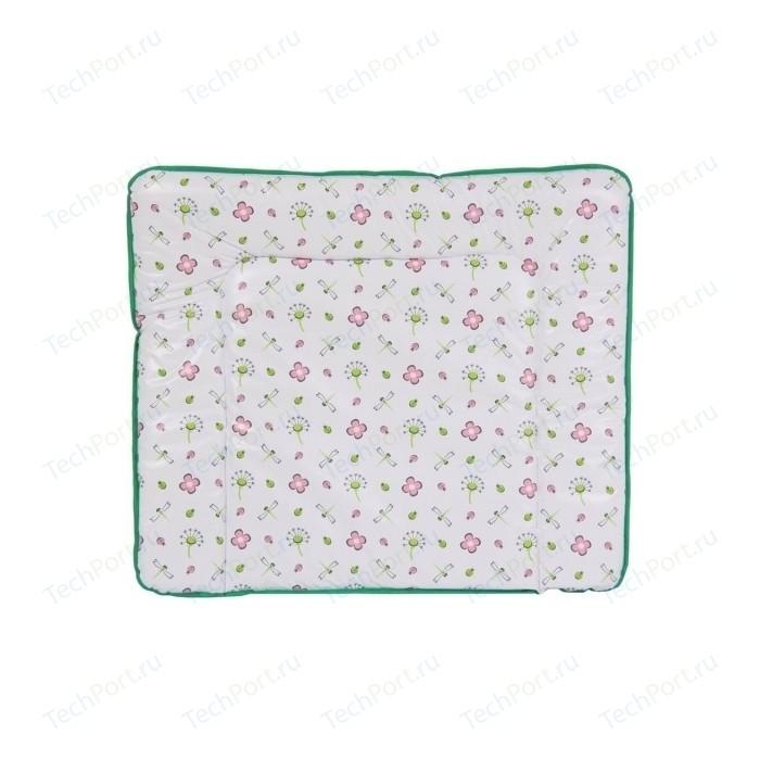 Доска пеленальная POLINI Стрекозы, мягкая, (85х75 см)