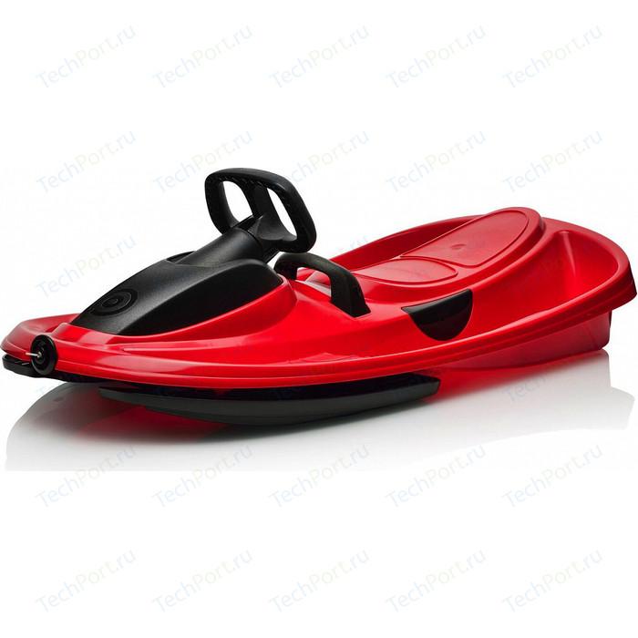 Санки-снегокат Gismo Riders с рулем и тормозом (красный) (1373643)