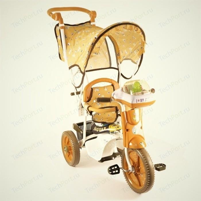 Велосипед трехколёсный Jaguar MS-0747 коричневый