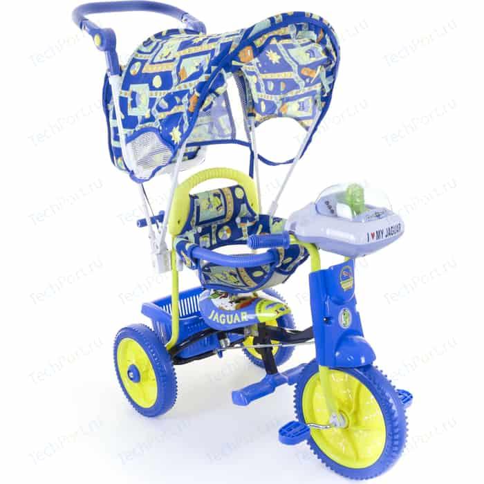 Трехколесный велосипед Jaguar MS-0747 синий