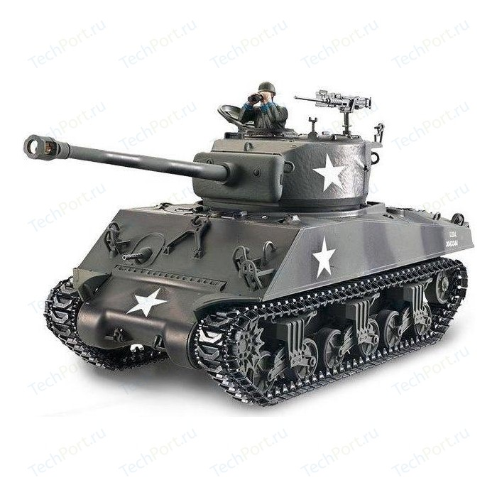 Радиоуправляемый танк Torro Sherman M4A3 76mm Metal Edition RTR масштаб 1:16 2.4G - TR1114213060
