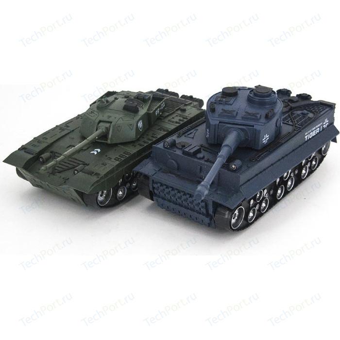 Радиоуправляемый танковый бой Huan Qi Тигр и Type 99 масштаб 1:32 27MHz, 40MHz - 369-22