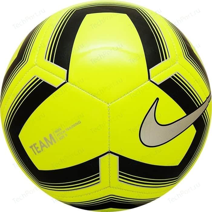 Мяч футбольный Nike Pitch Training SC3893-703 р. 5 мяч баскетбольный nike nike ni464duftho0