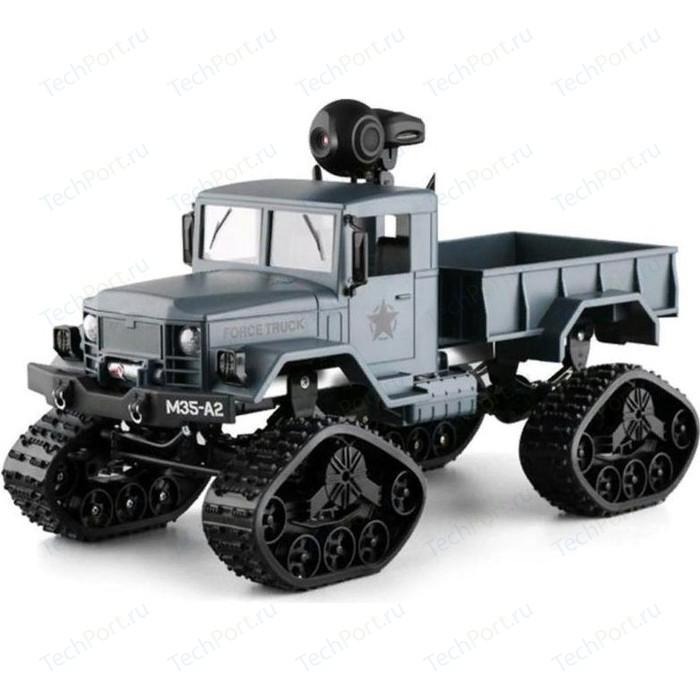 Радиоуправляемый краулер Aosenma RC Climbing Load Truck с wifi камерой, гусеницы, колеса, 4WD RTR масштаб 1:16 2.4G - FY001BW