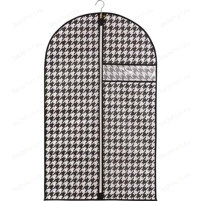 Чехол для одежды Handy Home Пепита, Д1000 Ш600, черно-белый