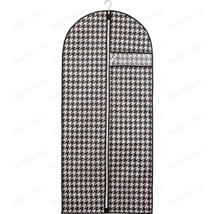 Чехол для одежды Handy Home Пепита, Д1350 Ш600, черно-белый