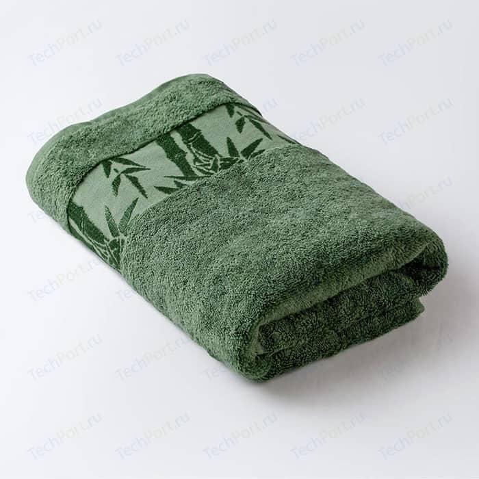 Полотенце Ecotex дубль Бамбук, 67x130, зеленый (4650074950303)