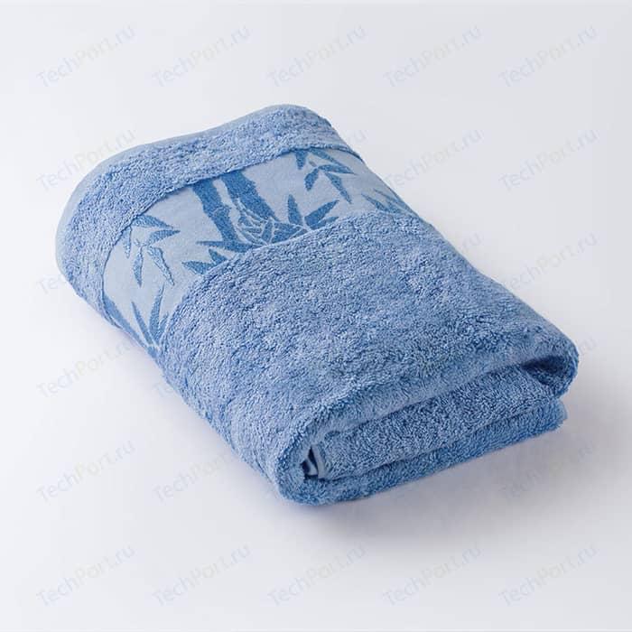 Полотенце Ecotex Бамбук, 90x150, голубой (4650074950235)