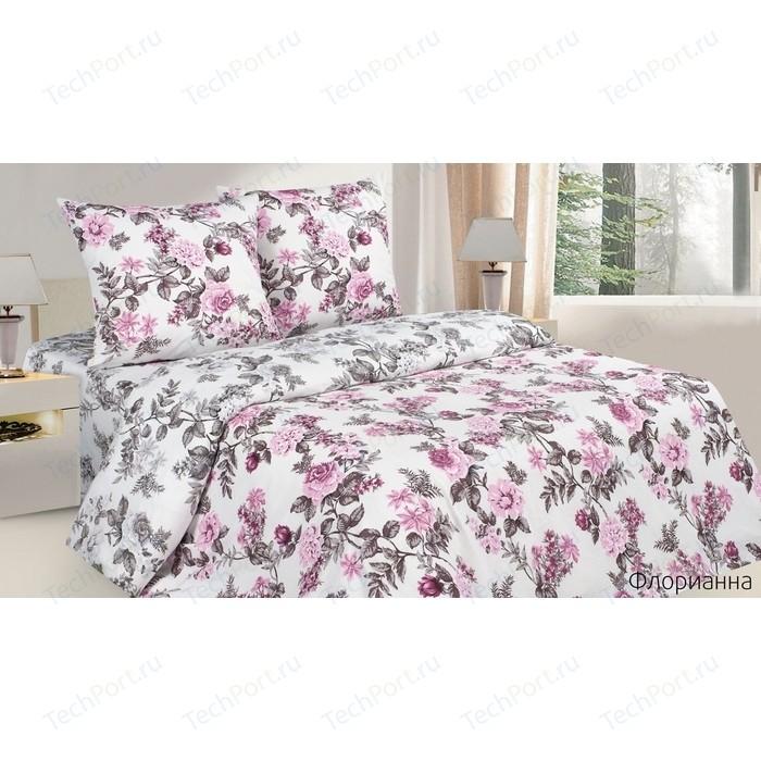 Комплект постельного белья Ecotex 1,5 сп, поплин, Поэтика Тропики (4660054340338) комплект постельного белья ecotex 2 сп поплин поэтика тиффани 4660054342042