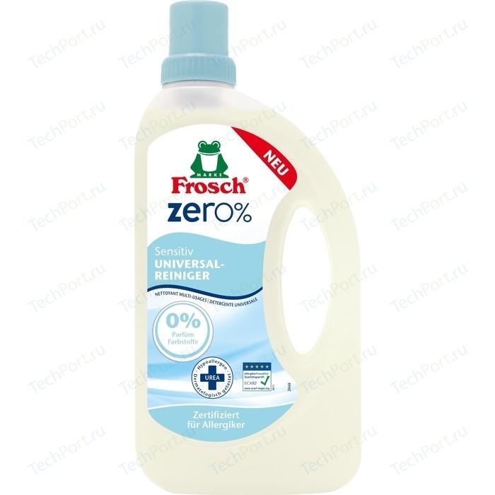 цена на Очиститель Frosch ZERO 0% Сенситив универсальный 750 мл