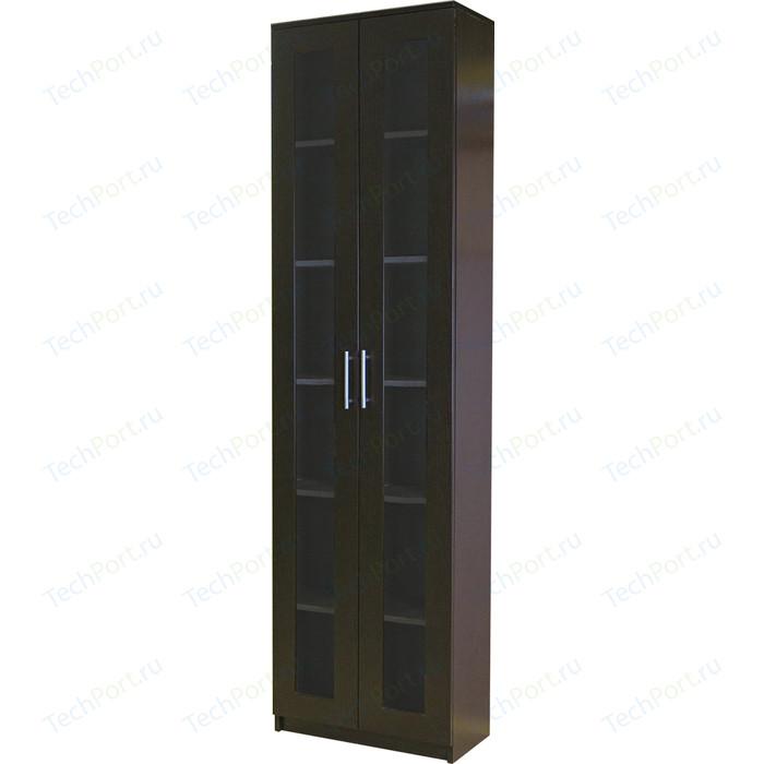 Книжный шкаф Гамма Симфония-1 60х30х220 венге