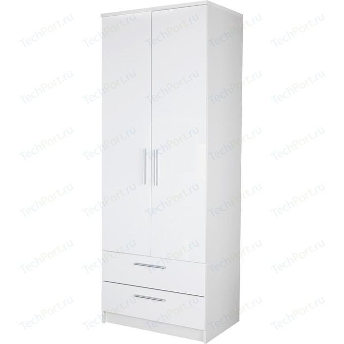 Шкаф с ящиками Гамма Соло 80х60 белый