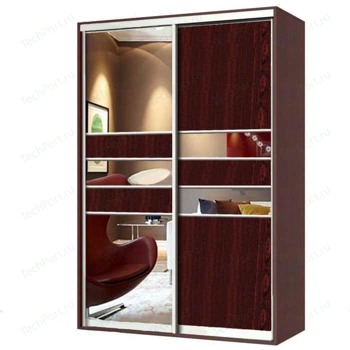 Шкаф-купе Гамма Шарм 150х60 венге с зеркалом
