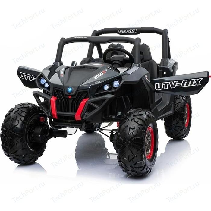 Двухместный полноприводный электромобиль XMX Black Carbon UTV-MX Buggy 12V - XMX603-BLACK-PAINT
