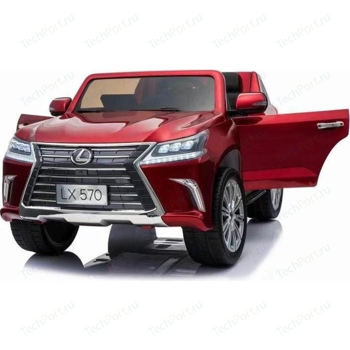 Фото - Детский электромобиль Dake Lexus LX570 4WD MP3 - DK-LX570-RED-PAINT внедорожник hoffmann lexus lx570 102779 1 32 18 см черный