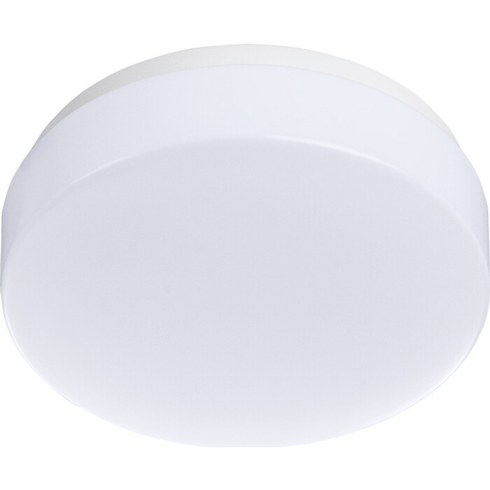 Встраиваемый светодиодный светильник Arte Lamp A3106PL-1WH светильник настенно потолочный arte lamp gamba a3106pl 1wh 1 led 6вт 230в d 11см пластик белый