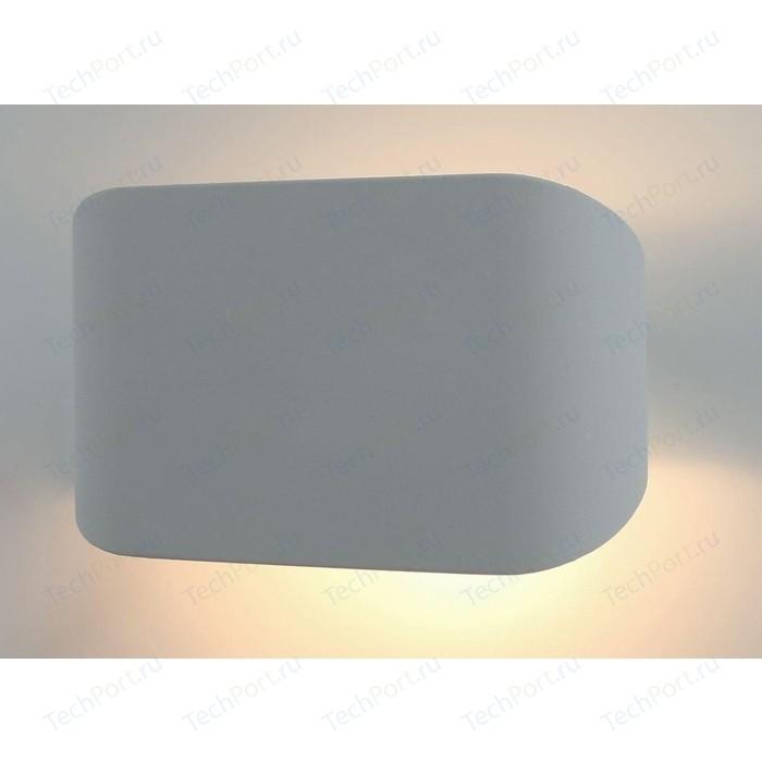Настенный светодиодный светильник Arte Lamp A1429AP-1GY настенный светодиодный светильник arte lamp a1429ap 1wh