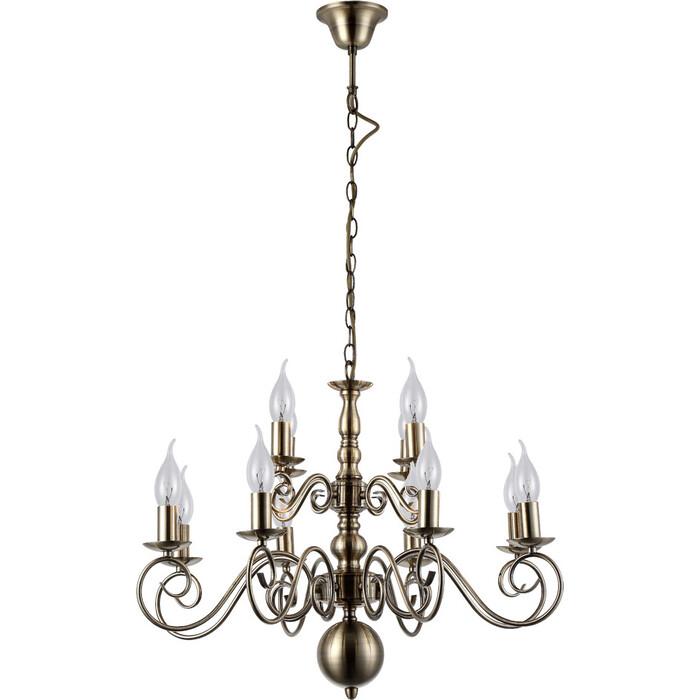 Подвесная люстра Arte Lamp A1129LM-12AB