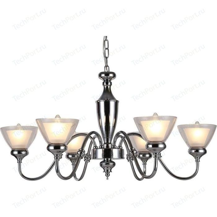 Подвесная люстра Arte Lamp A5184LM-6CC люстра arte lamp a2701pl 6cc