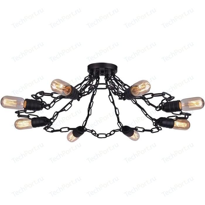 цена на Потолочная люстра Artelamp A9344PL-8BK